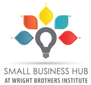 Small Business Hub at Wright Brothers Institute Logo